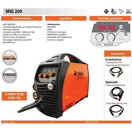Synergic welding machine MIG 200