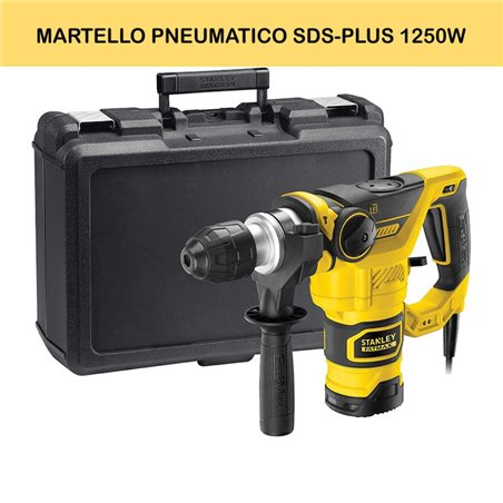 MARTELLO PNEUMATICO SDS-PLUS 1250W