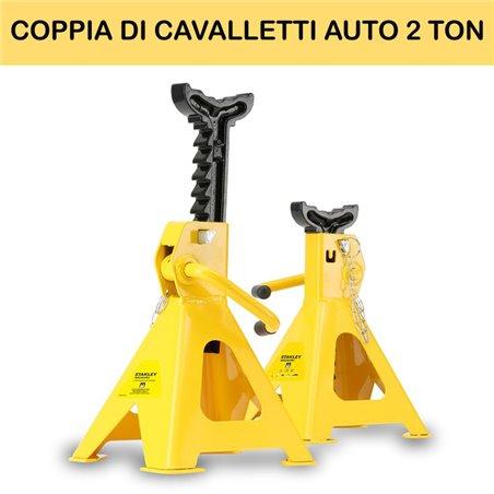 COPPIA DI CAVALLETTI AUTO 2 TON