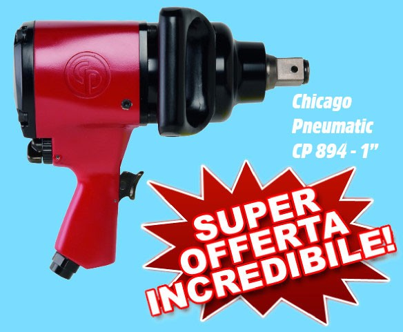 "1 ""Chicago Pneumatic CP 894 Impact Wrench"