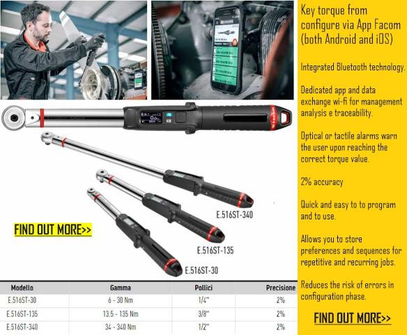 FACOM SMART TORQUE WRENCH